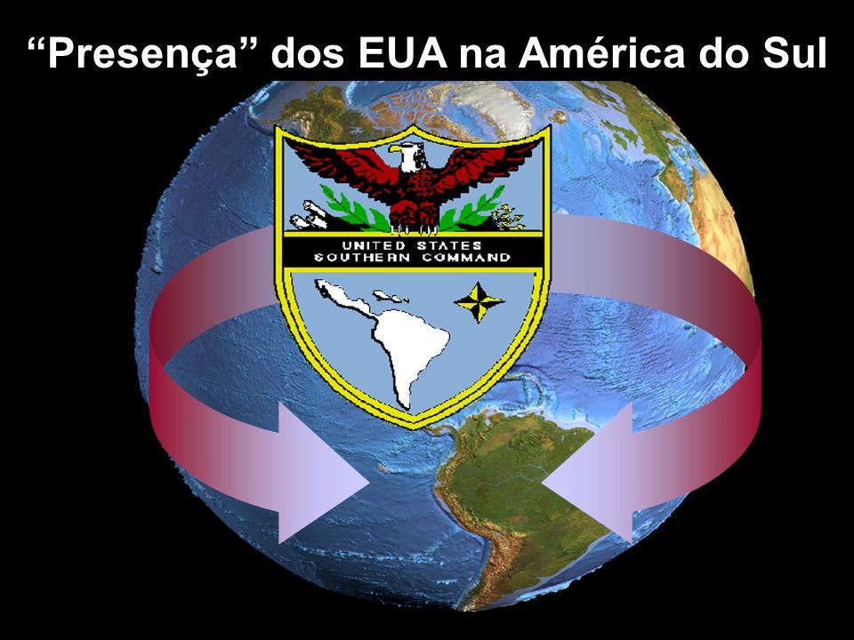 Presença dos EUA na América do Sul