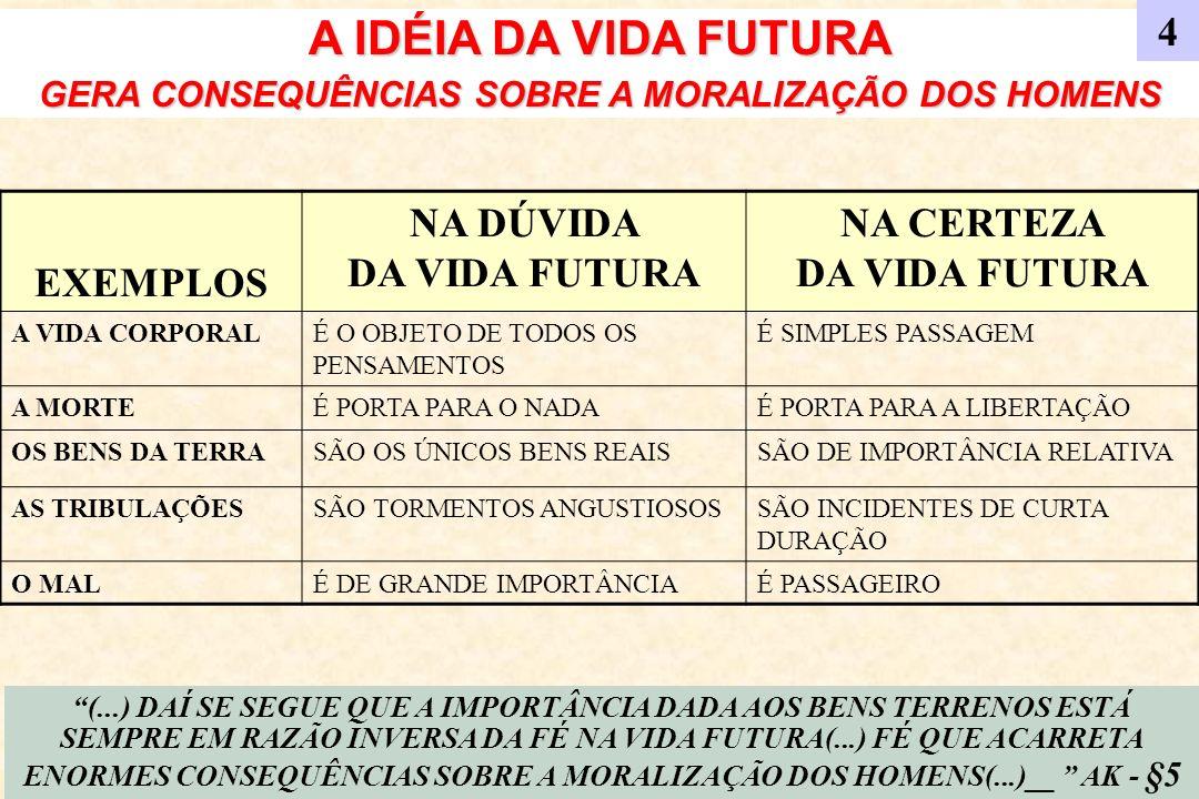 A IDÉIA DA VIDA FUTURA 4 EXEMPLOS NA DÚVIDA DA VIDA FUTURA