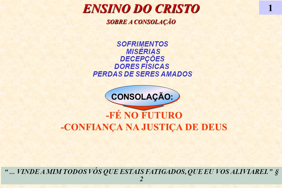 -FÉ NO FUTURO -CONFIANÇA NA JUSTIÇA DE DEUS