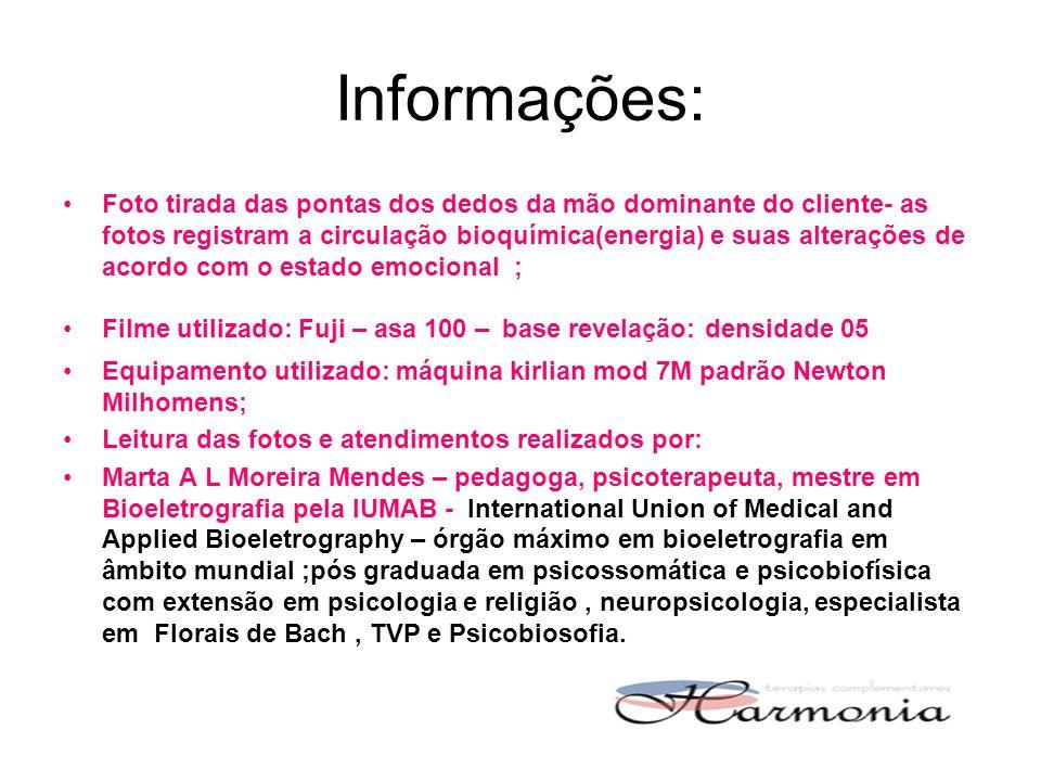 Informações: