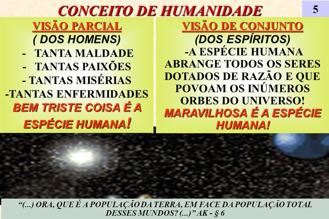 CONCEITO DE HUMANIDADE
