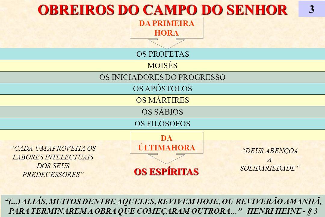 OBREIROS DO CAMPO DO SENHOR