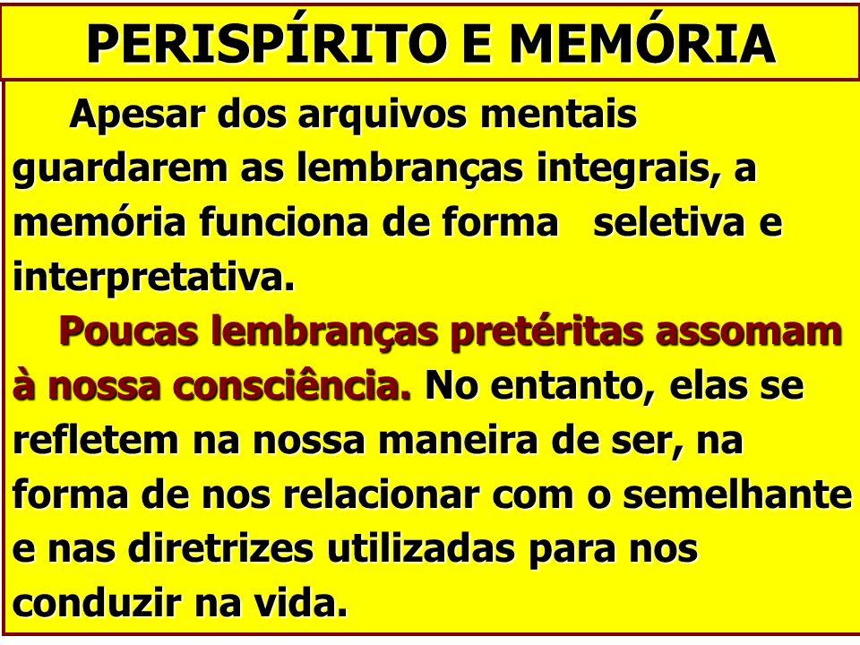 PERISPÍRITO E MEMÓRIA