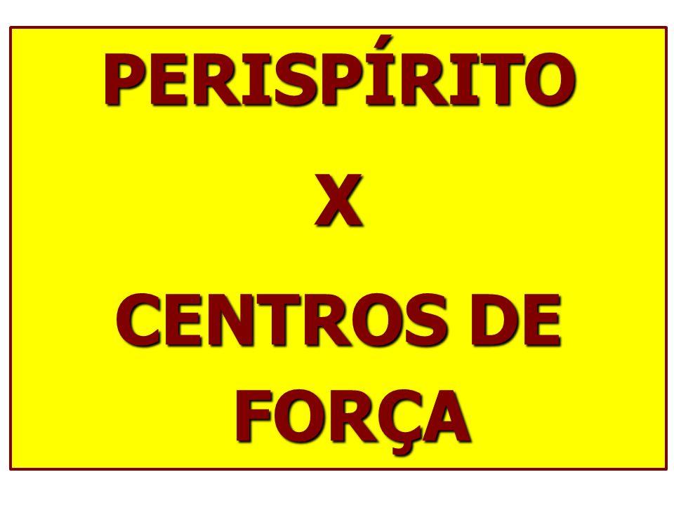 PERISPÍRITO X CENTROS DE FORÇA