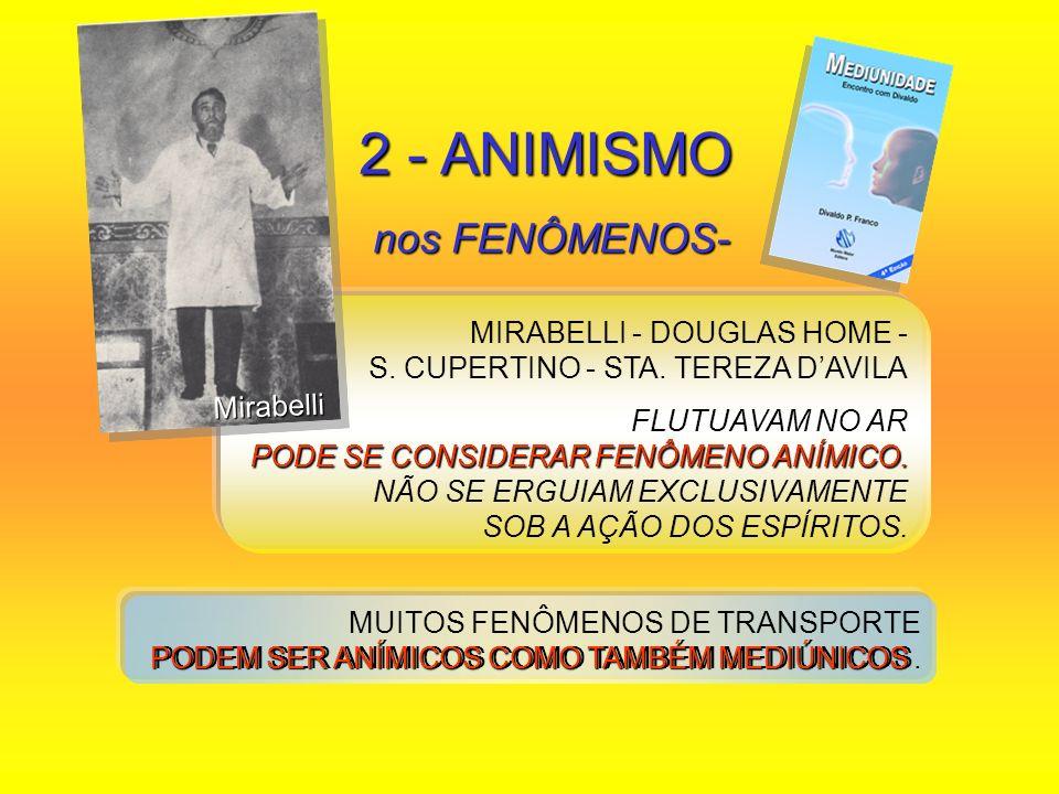 2 - ANIMISMO nos FENÔMENOS-