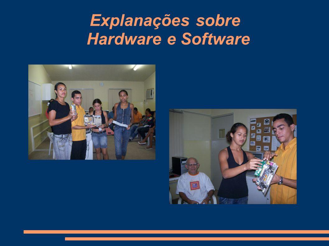Explanações sobre Hardware e Software