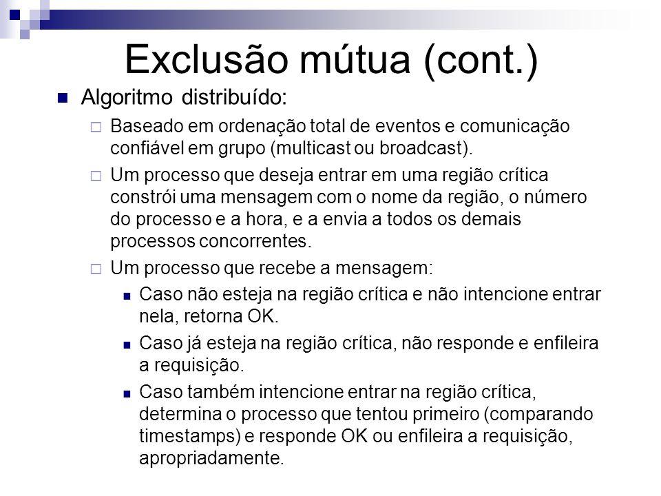 Exclusão mútua (cont.)
