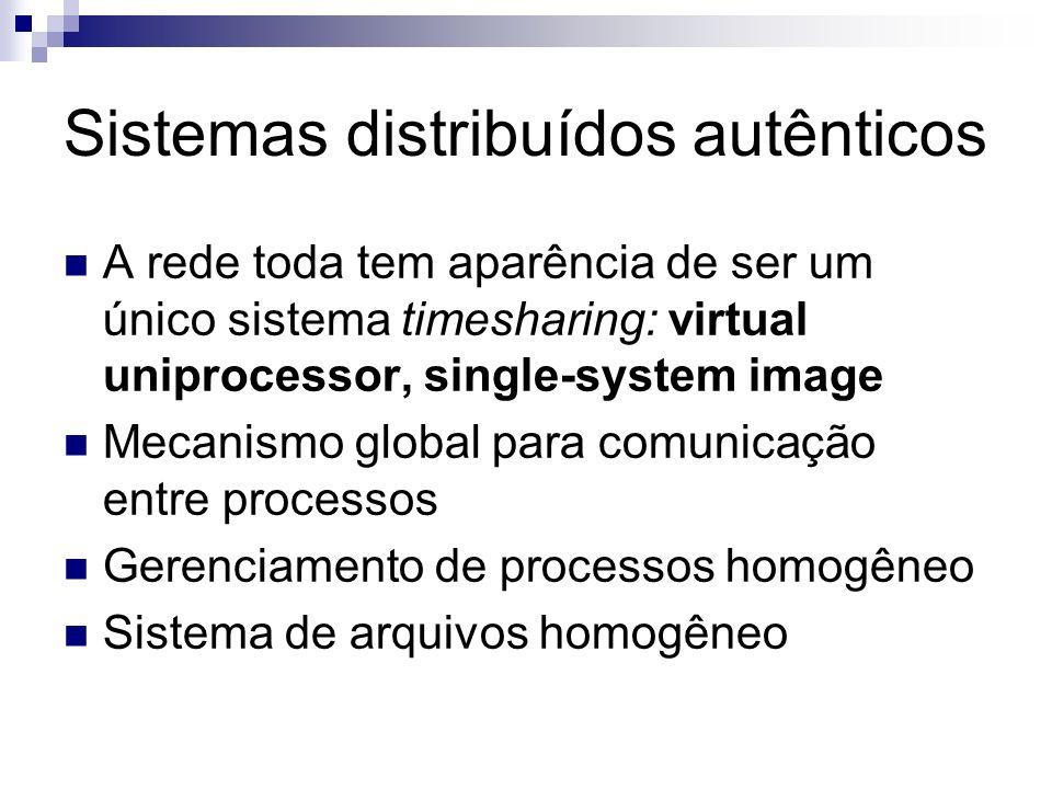 Sistemas distribuídos autênticos