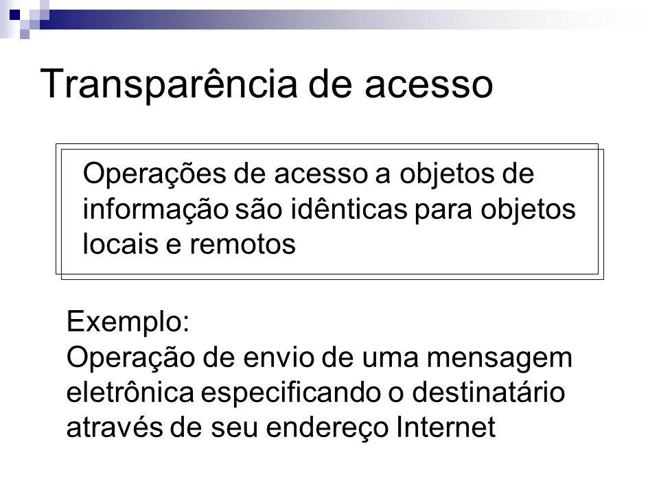 Transparência de acesso