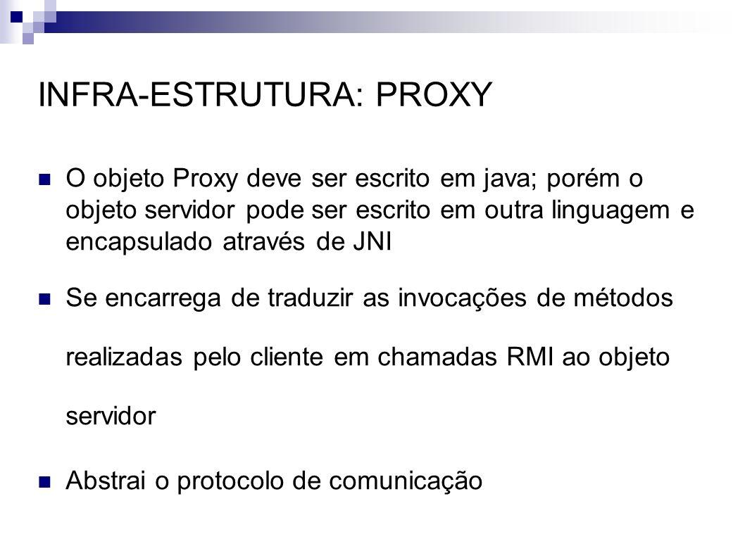 INFRA-ESTRUTURA: PROXY