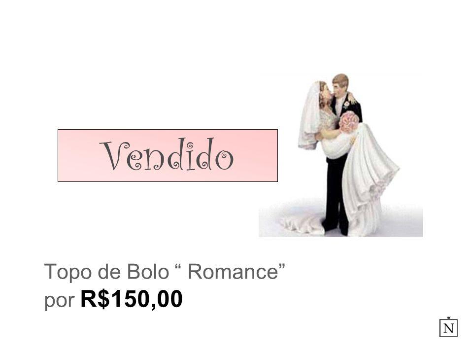 Topo de Bolo Romance por R$150,00