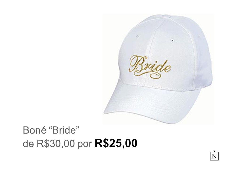 Boné Bride de R$30,00 por R$25,00