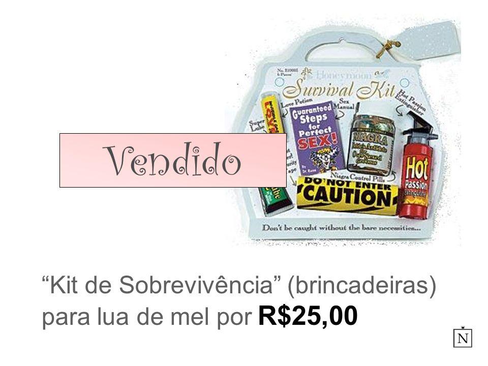 Kit de Sobrevivência (brincadeiras) para lua de mel por R$25,00
