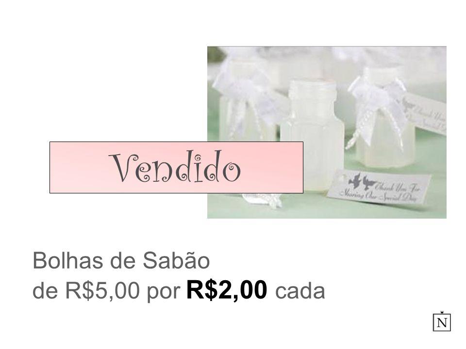 Bolhas de Sabão de R$5,00 por R$2,00 cada