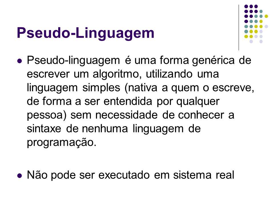 Pseudo-Linguagem