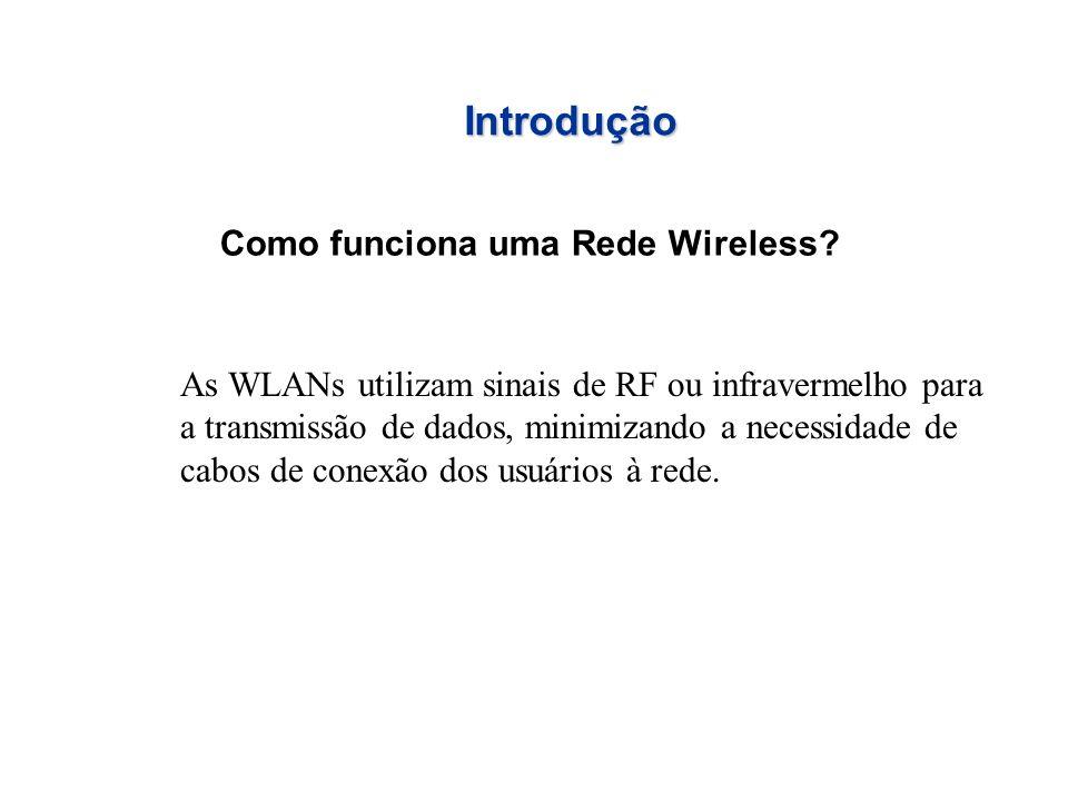 Introdução Como funciona uma Rede Wireless