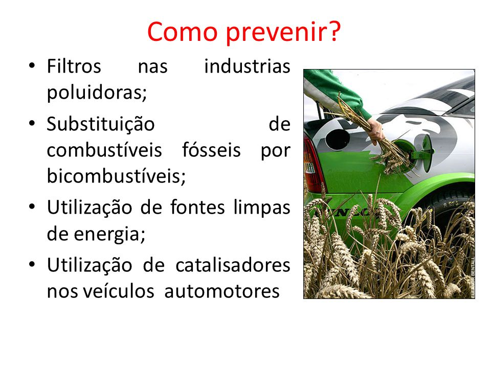 Como prevenir Filtros nas industrias poluidoras;