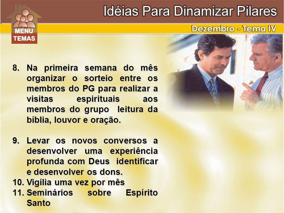 Seminários sobre Espírito Santo