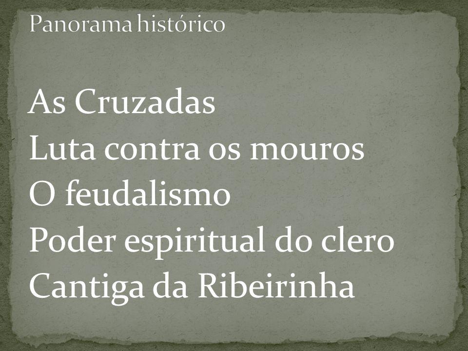 Poder espiritual do clero Cantiga da Ribeirinha