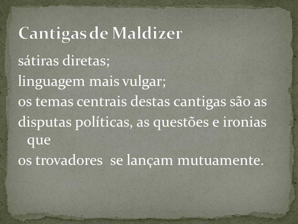 Cantigas de Maldizer