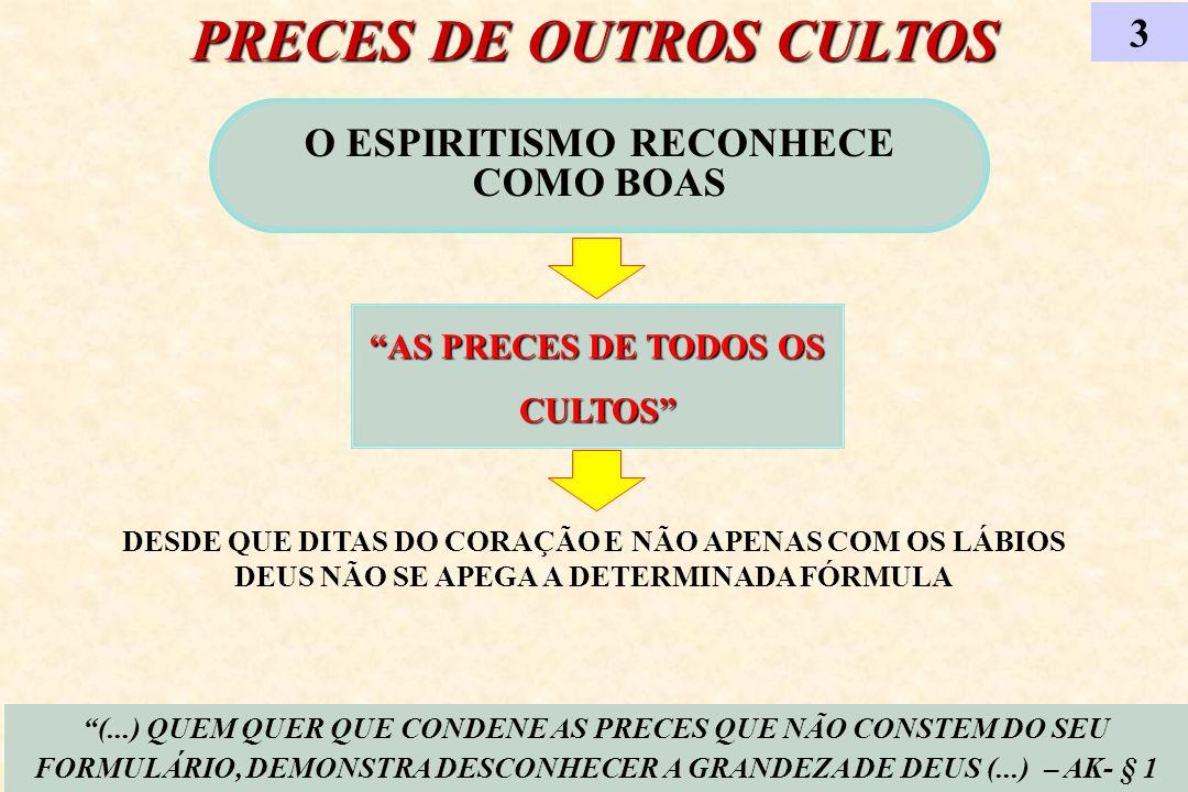 PRECES DE OUTROS CULTOS
