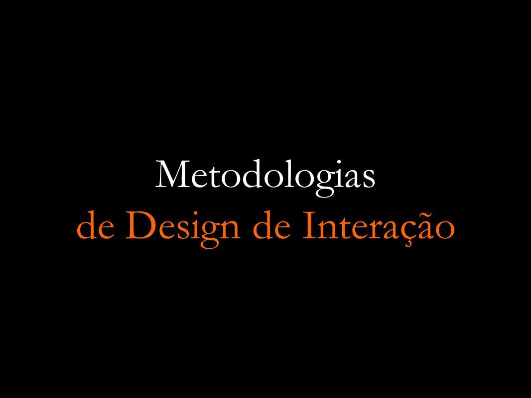 Metodologias de Design de Interação