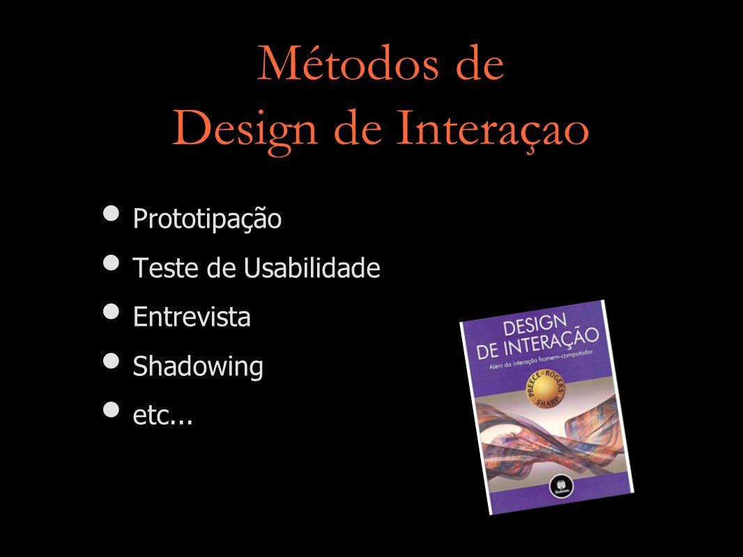 Métodos de Design de Interaçao