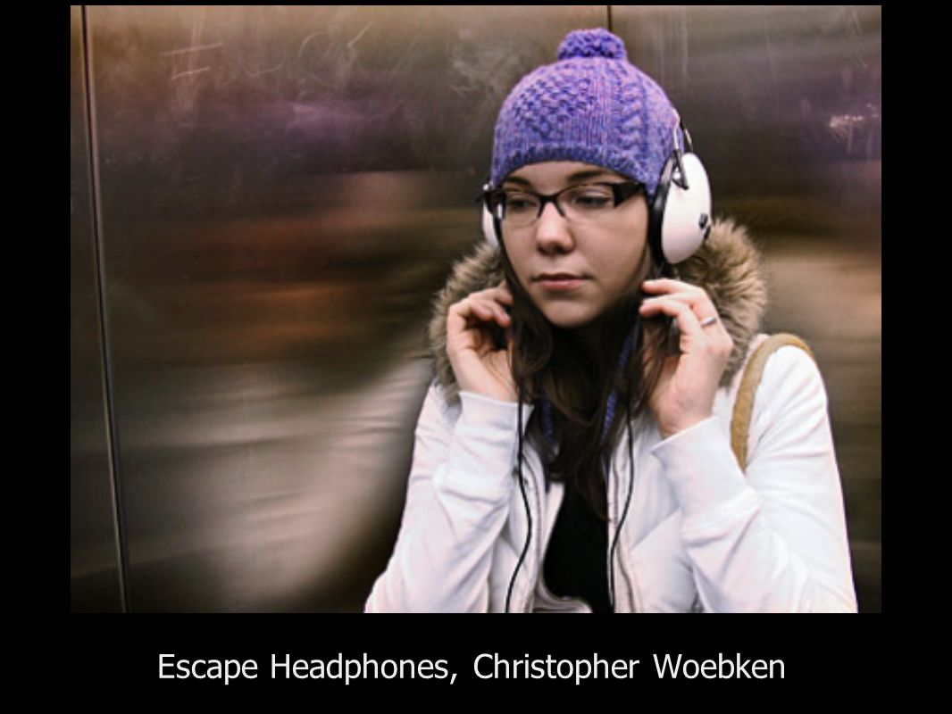 Escape Headphones, Christopher Woebken