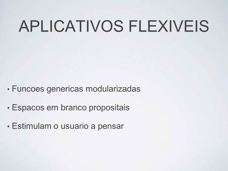 APLICATIVOS FLEXIVEIS