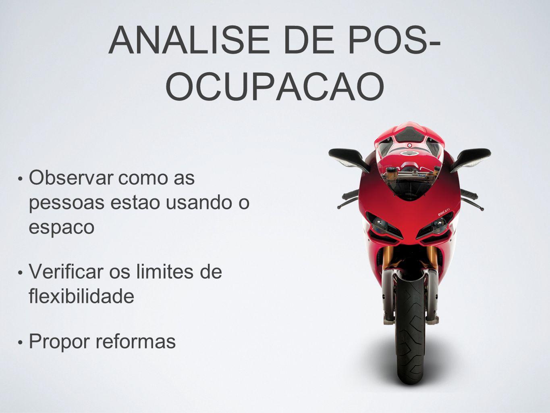 ANALISE DE POS-OCUPACAO