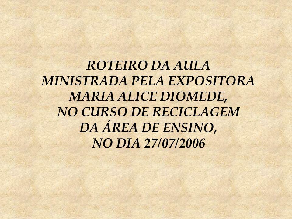 MINISTRADA PELA EXPOSITORA