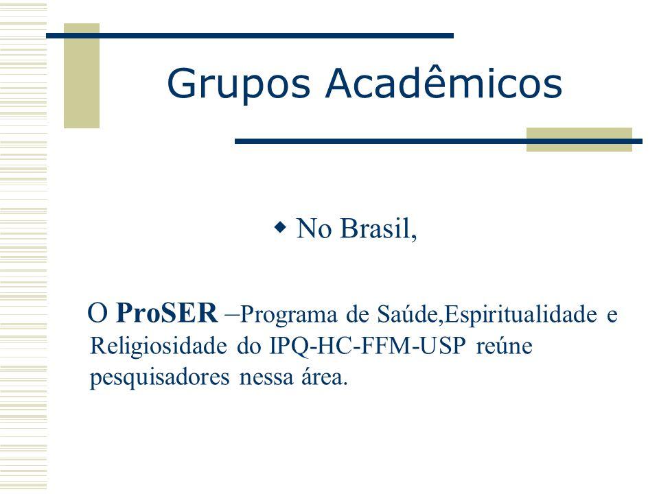 Grupos Acadêmicos No Brasil,