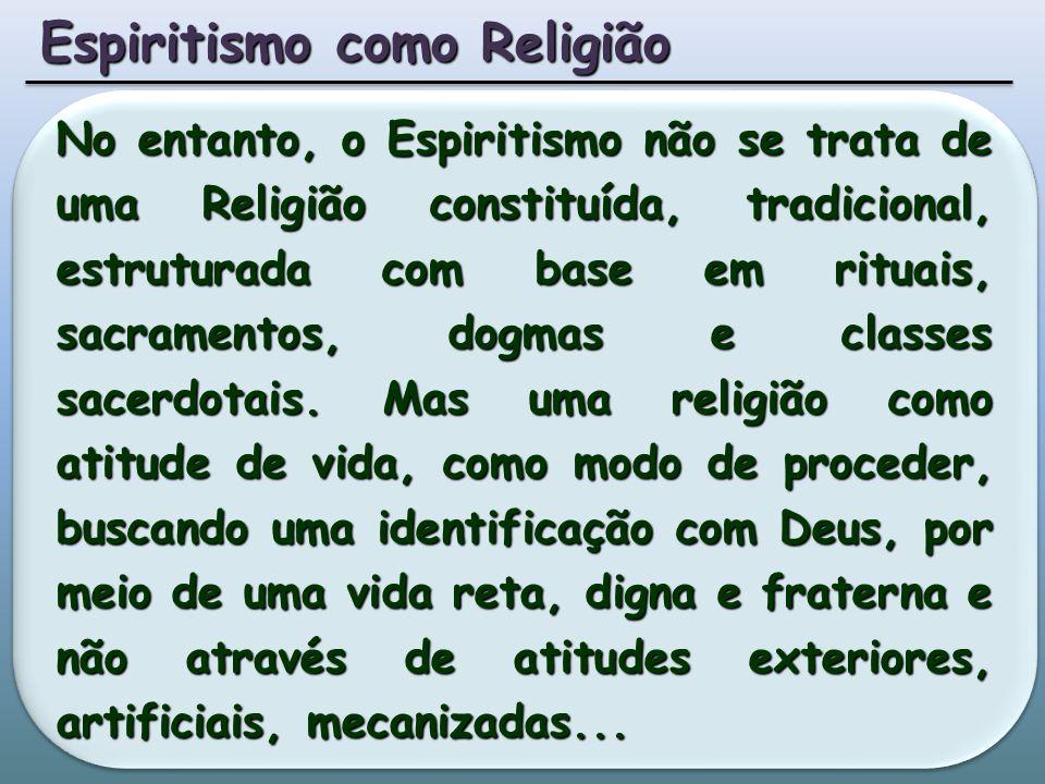 Espiritismo como Religião