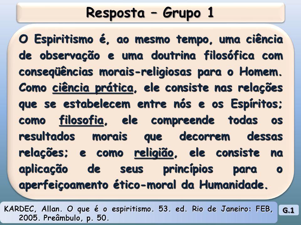 Resposta – Grupo 1