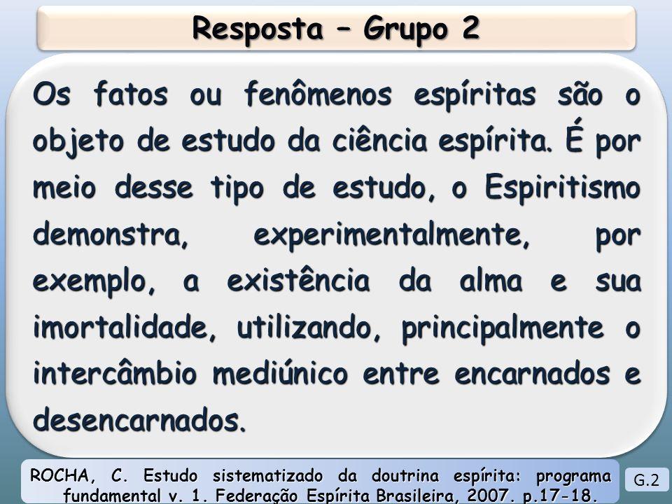 Resposta – Grupo 2