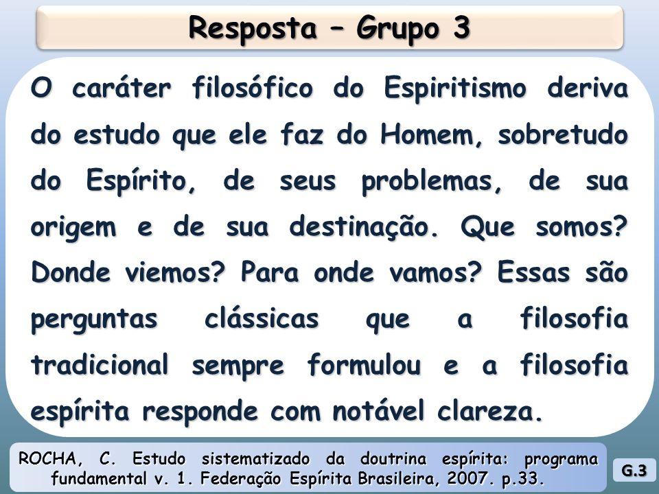 Resposta – Grupo 3