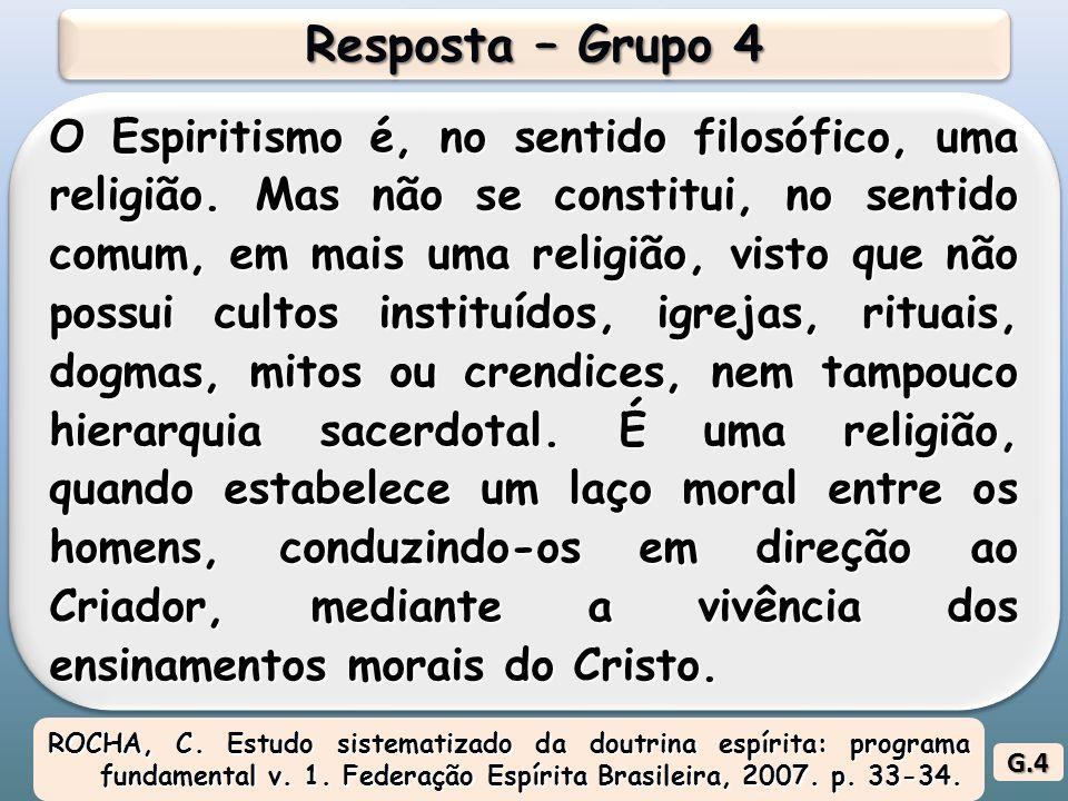 Resposta – Grupo 4