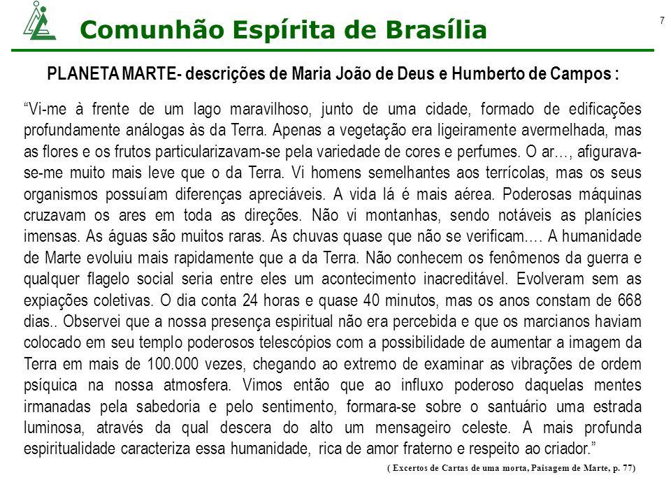 PLANETA MARTE- descrições de Maria João de Deus e Humberto de Campos :