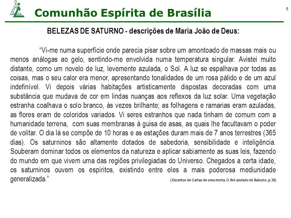 BELEZAS DE SATURNO - descrições de Maria João de Deus: