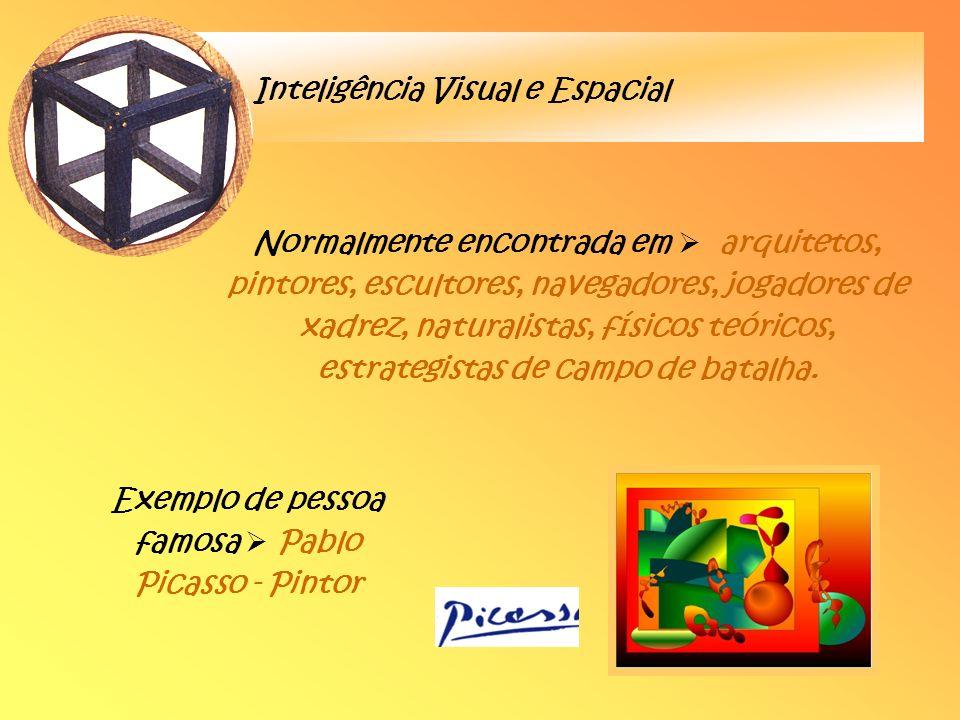 Exemplo de pessoa famosa  Pablo Picasso - Pintor
