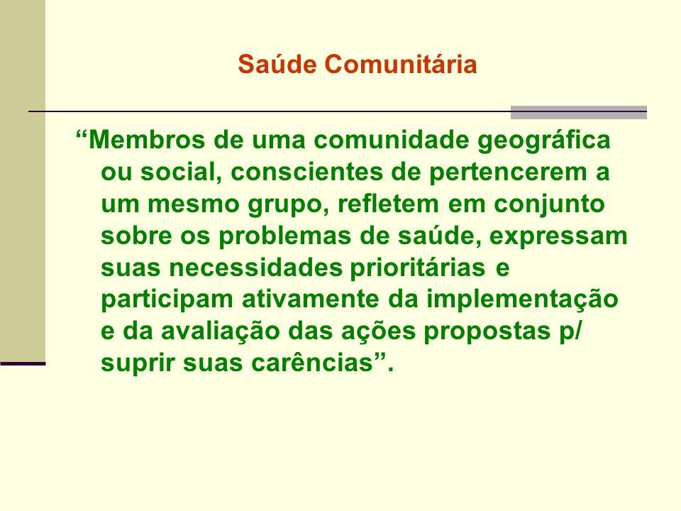 Saúde Comunitária