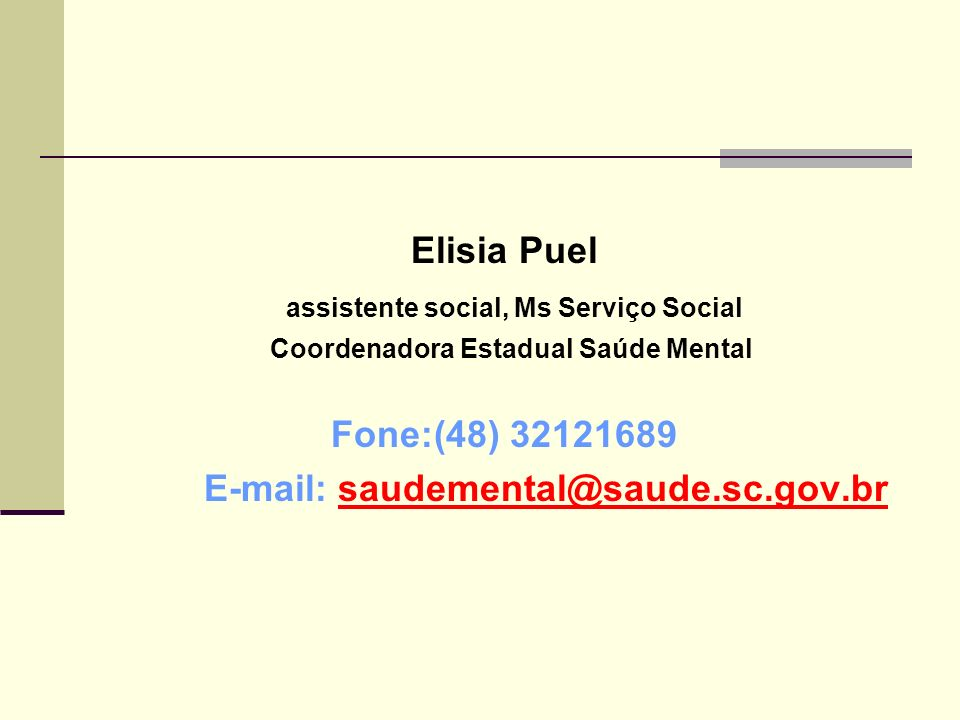 assistente social, Ms Serviço Social