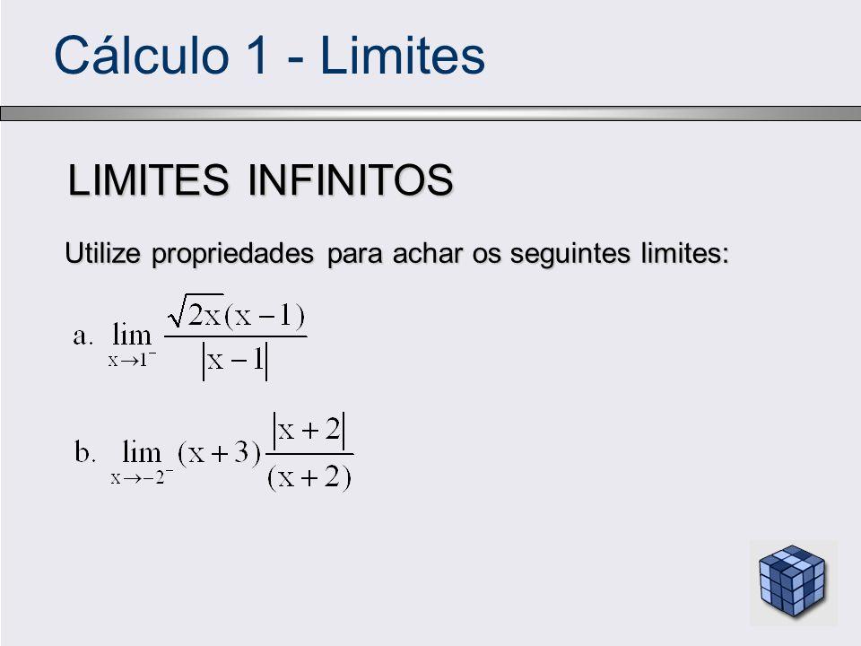 Cálculo 1 - Limites LIMITES INFINITOS