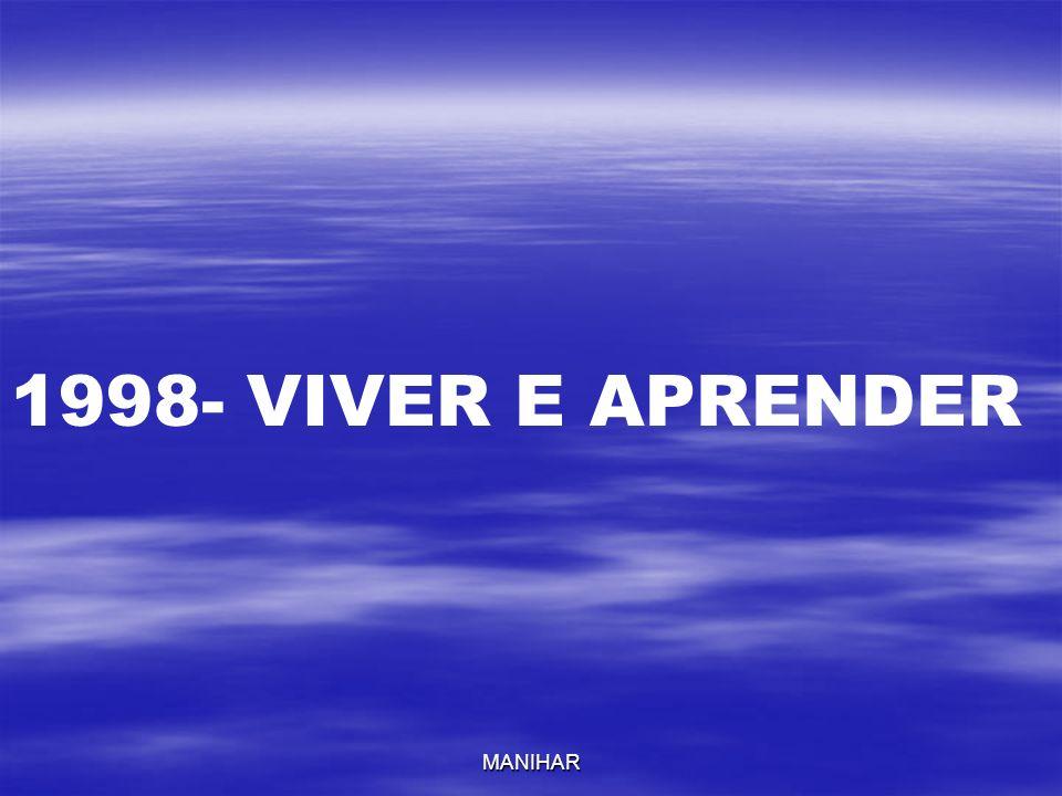 1998- VIVER E APRENDER MANIHAR