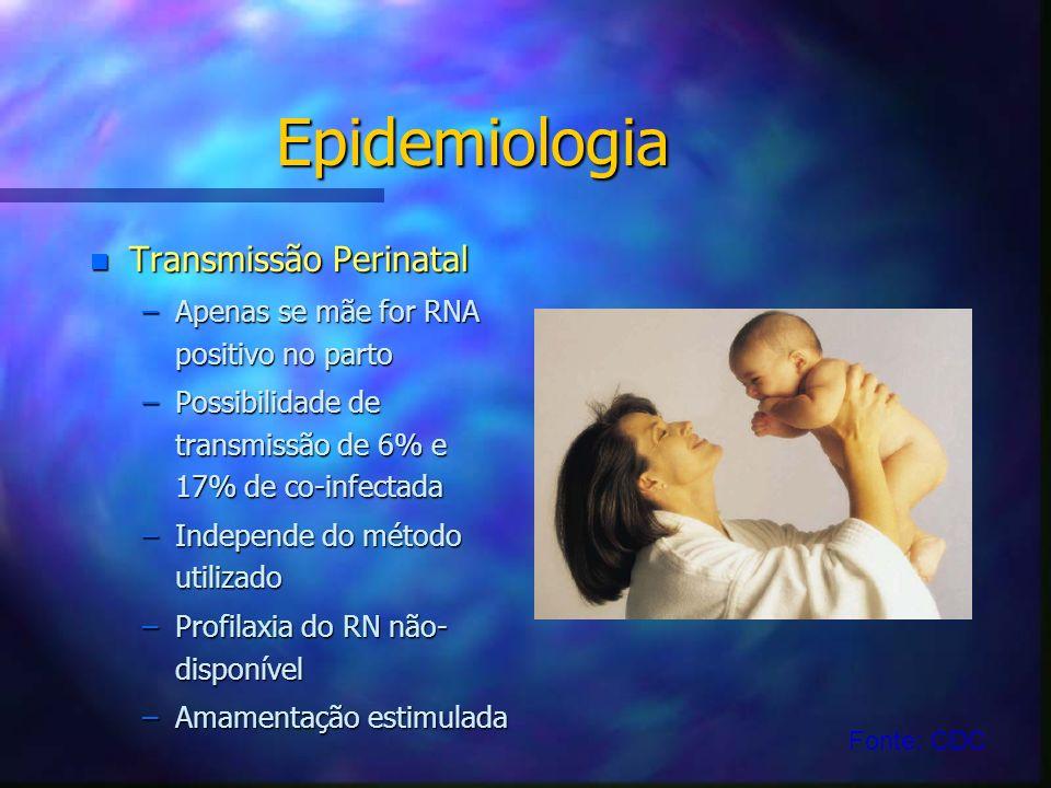 Epidemiologia Transmissão Perinatal