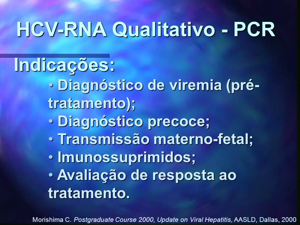 HCV-RNA Qualitativo - PCR
