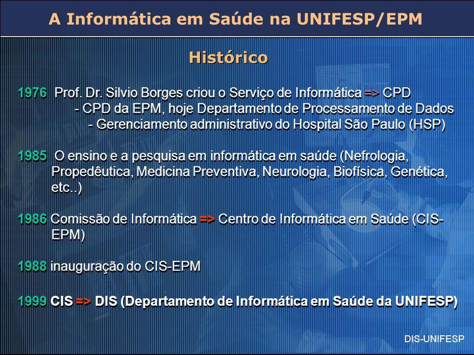 A Informática em Saúde na UNIFESP/EPM