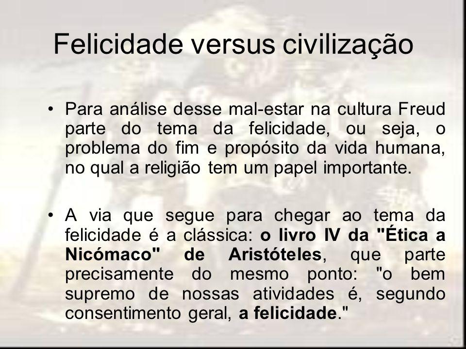 Felicidade versus civilização