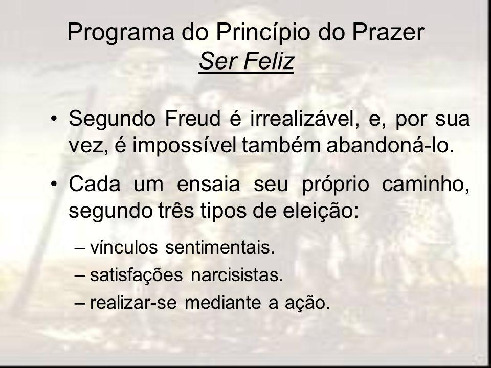 Programa do Princípio do Prazer Ser Feliz
