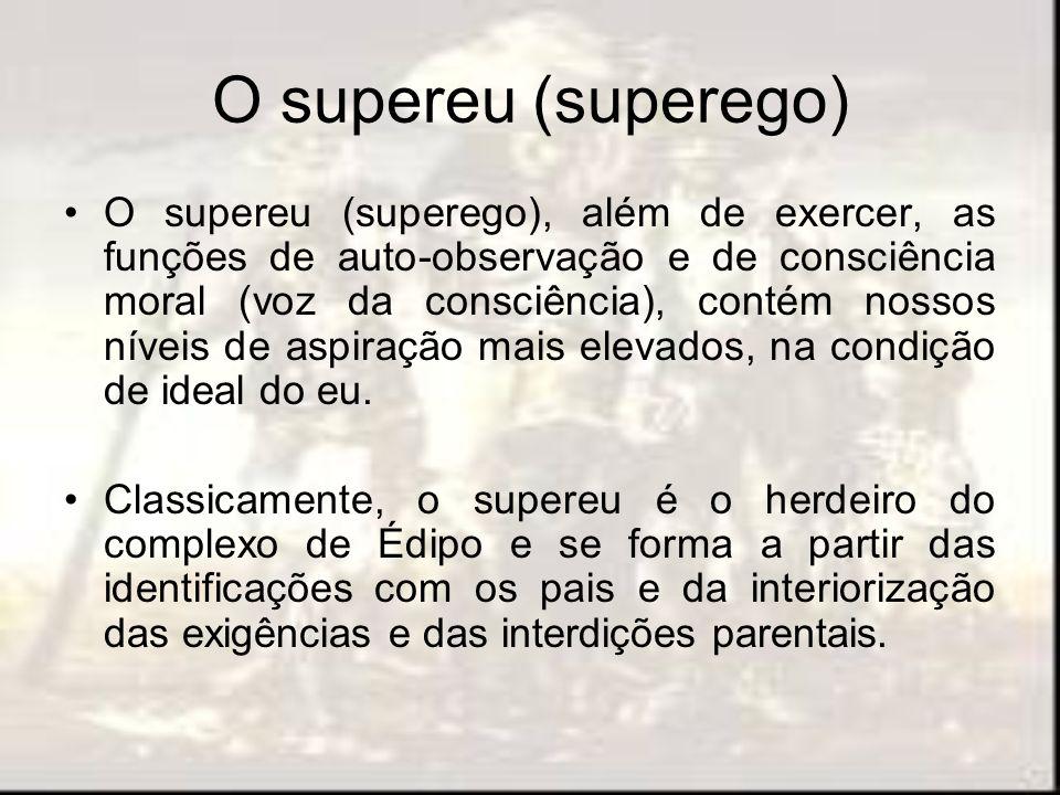 O supereu (superego)